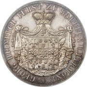 2 Thaler / 3½ Gulden - Georg Friedrich Heinrich – obverse