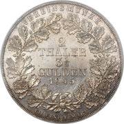 2 Thaler / 3½ Gulden - Georg Friedrich Heinrich – reverse