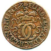 6 Pfennig - Karl August Friedrich – obverse