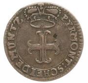 1 Pfennig - Karl August Friedrich – obverse