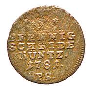 1 Pfennig - Friedrich Karl August – reverse