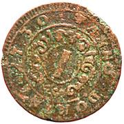 1 Pfennig - Karl August Friedrich – reverse