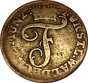 1 Pfennig - Friedrich Karl August – obverse