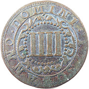 4 Pfennig - Karl August Friedrich – reverse