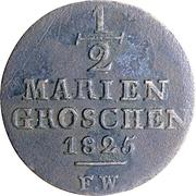 ½ Mariengroschen - Georg Heinrich – reverse