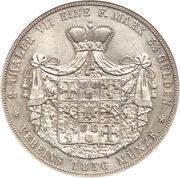 2 Thaler / 3½ Gulden - Georg Victor – reverse