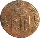 1 Pfennig - Georg Friedrich Heinrich – obverse