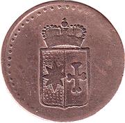 1 Pfennig - Georg II. Heinrich – obverse