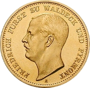 20 Mark - Friedrich – obverse