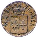 1 Pfennig - Georg Victor – obverse