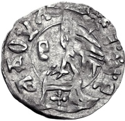 1 Dinar - Radu I (Type I) – reverse