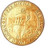 10 Gold Ducat - Mihai Viteazul – obverse
