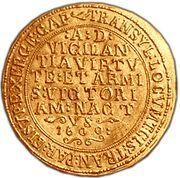 10 Gold Ducat - Mihai Viteazul – reverse