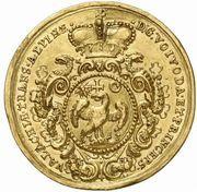 5 Gold Ducat - Constantin Brâncoveanu – reverse