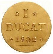 1 Ducat - Johann Ludwig – reverse