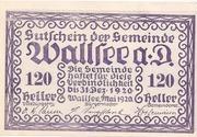 120 Heller (Wallsee) – obverse