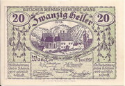 20 Heller (Wang) -  obverse