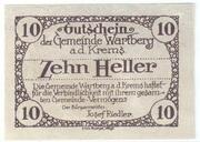 10 Heller (Wartberg an der Krems) – reverse