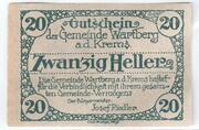 20 Heller (Wartberg an der Krems) -  reverse