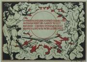 50 Pfennig (Goethe and Schiller Series - Schiller, Red Issue) -  reverse