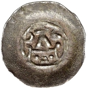 1 Pfennig - Anonymous (Altorf) – reverse