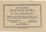 20 Heller (Weinzierl) -  reverse