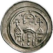 1 Pfennig (Dickpfennig) – reverse