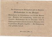 20 Heller (Weissenkirchen in der Wachau) – reverse