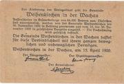 90 Heller (Weissenkirchen) – reverse
