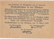 30 Heller (Weissenkirchen) – reverse