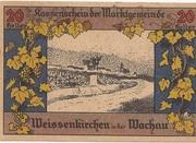 20 Heller (Weissenkirchen) – obverse