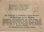 50 Heller (Weissenkirchen) – reverse