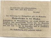 10 Heller (Weissenkirchen) – reverse