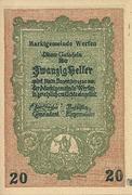 20 Heller (Werfen) -  obverse