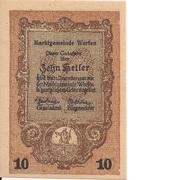 10 Heller (Werfen) -  obverse