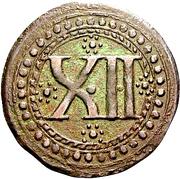12 Pfennig – reverse