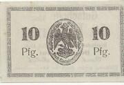 10 Pfennig (Bischofswerder) – reverse