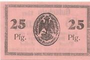 25 Pfennig (Bischofswerder) – reverse