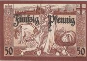 50 Pfennig (Marienburg) – reverse