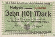 10 Mark (Marienburg) – obverse