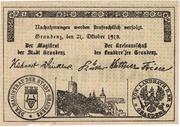 10 Mark (Stadt und Landkreis Graudenz) – obverse