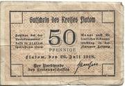 50 Pfennig (Kreis Flatow) – obverse