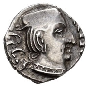1 Drachm. Ksahtrap Dynasty -  obverse