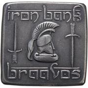 Braavosi Iron Square - Iron Bank Braavos – obverse
