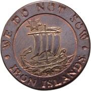 Copper Star - Balon Greyjoy (Iron Islands) – reverse