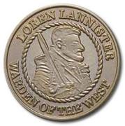 ½ Penny - Loren Lannister – obverse
