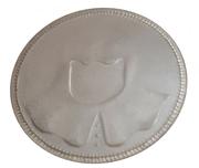 Silver Faceless Man Coin – obverse
