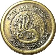 Golden Dragon - Aegon Targaryen – obverse