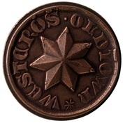Copper Star - Robert Baratheon (Oldtown) – reverse