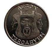 Silver Stag - Aegon Targaryen (Dragonstone) – obverse
